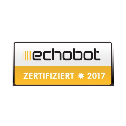 Echobot Agentur zertifiziert 2017