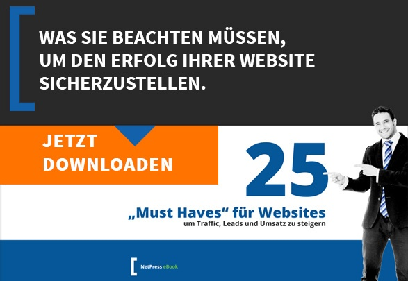 25 Must Haves für Ihre Website